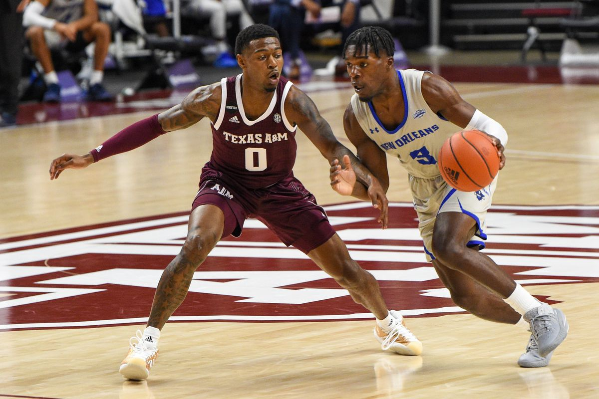 COLLEGE BASKETBALL: NOV 29 New Orleans at Texas A&M