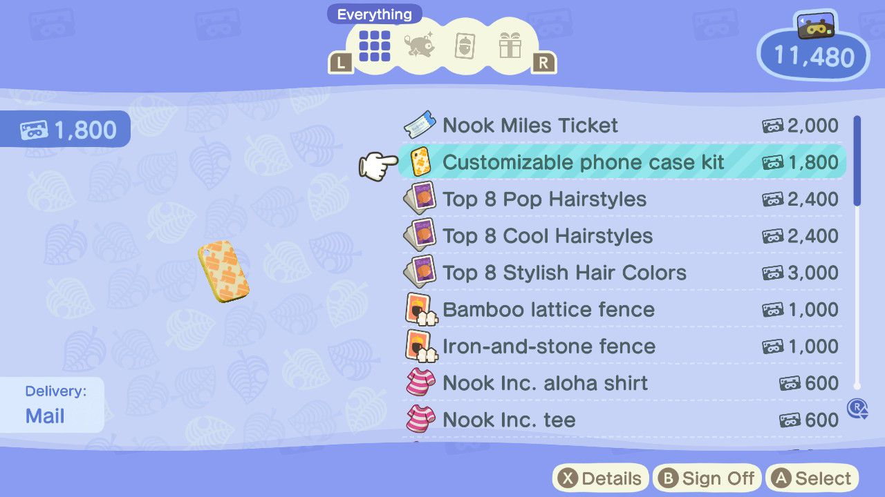 How To Use The Customizable Phone Case Kit In Animal Crossing New