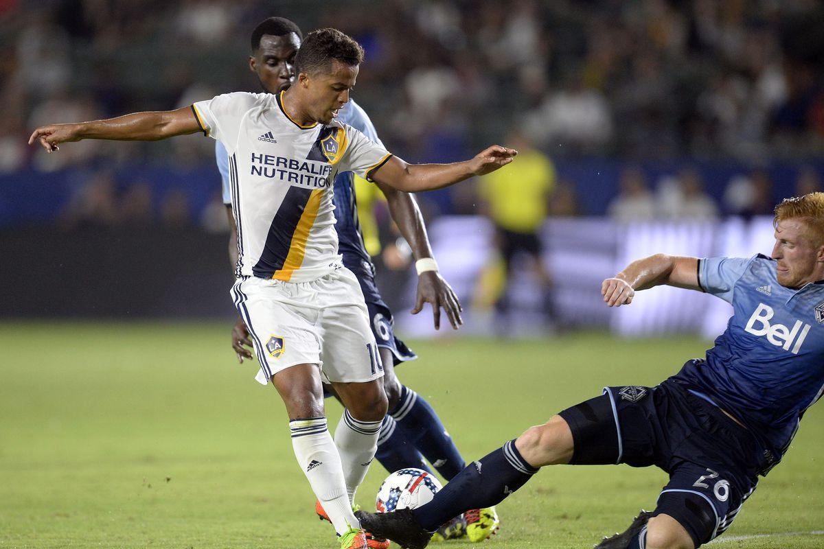MLS: Vancouver Whitecaps FC at Los Angeles Galaxy