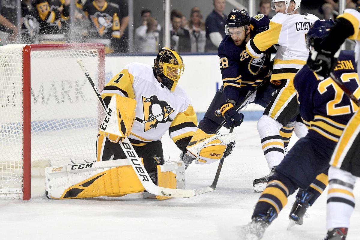 Sabres beat Penguins in overtime in their preseason opener