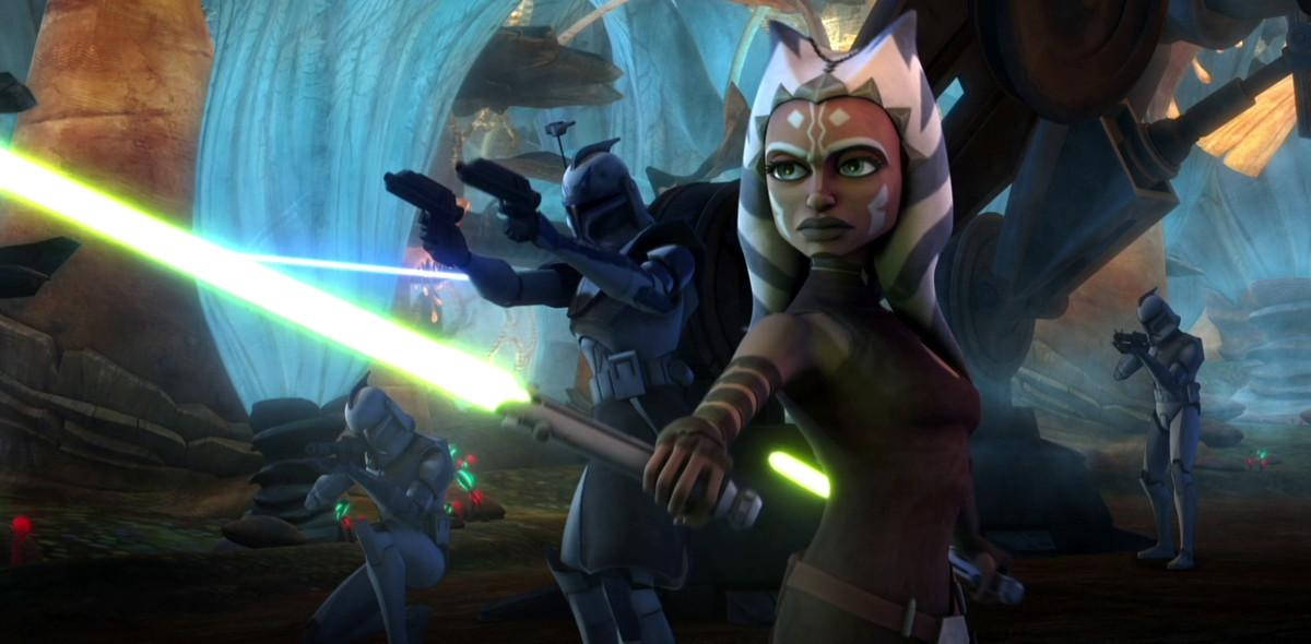ahsoka in superstar wars: the clone wars