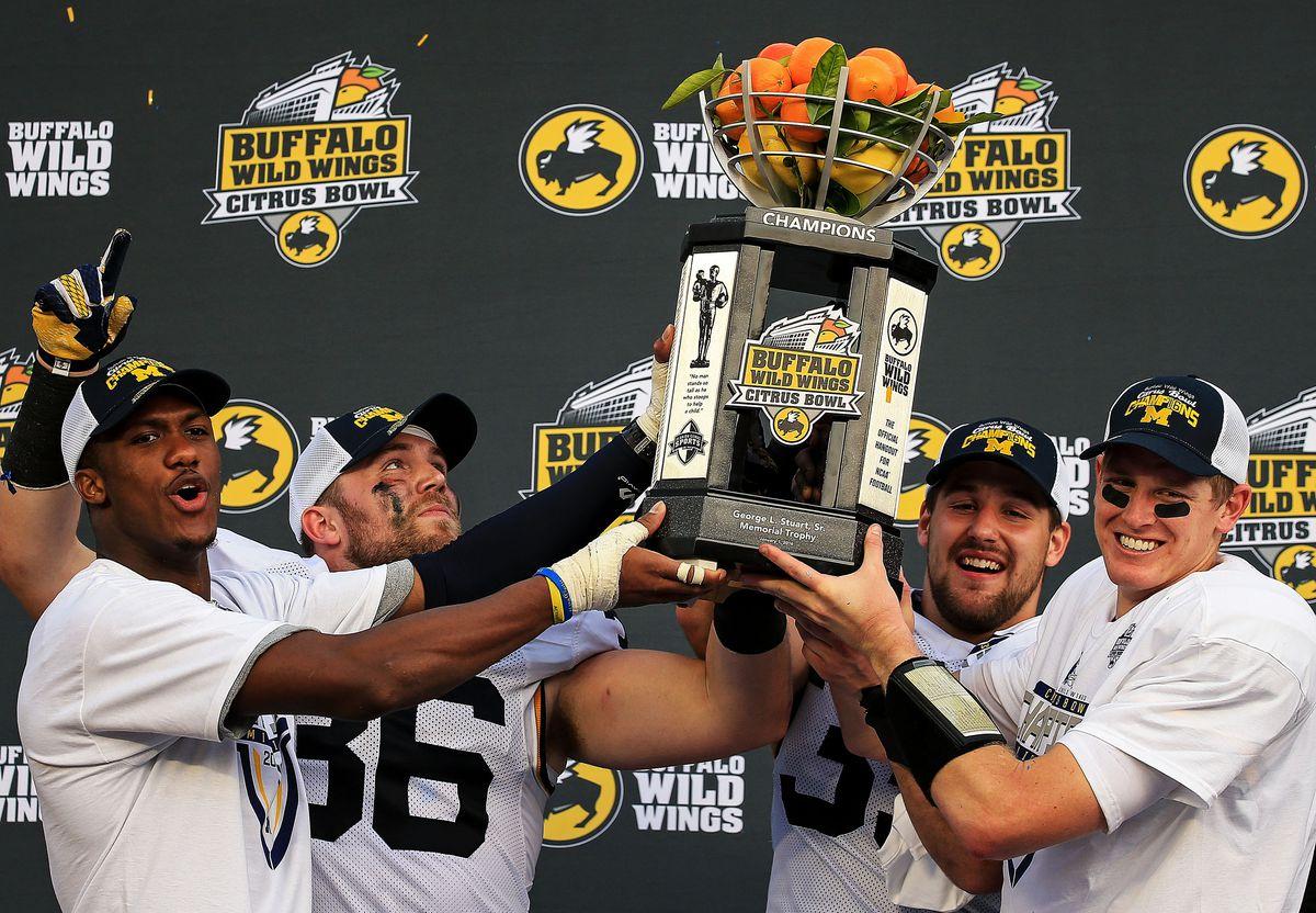 Buffalo Wild Wings Citrus Bowl - Michigan v Florida