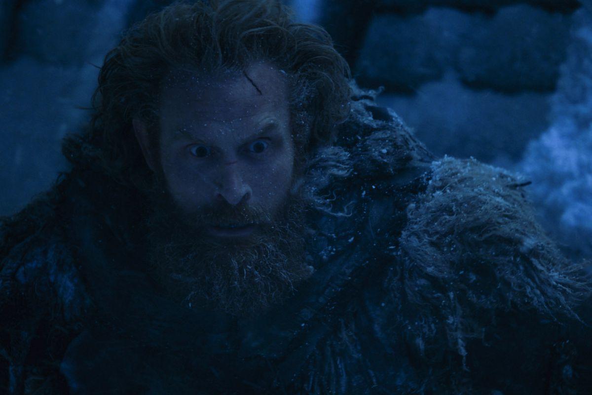 Tormund on Game of Thrones.
