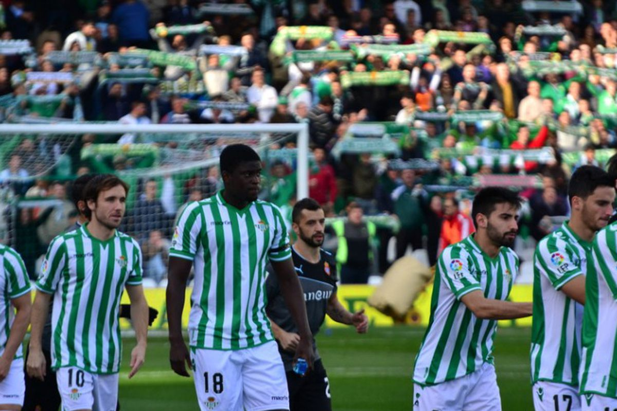 Alfred N'Diaye makes his Real Betis debut