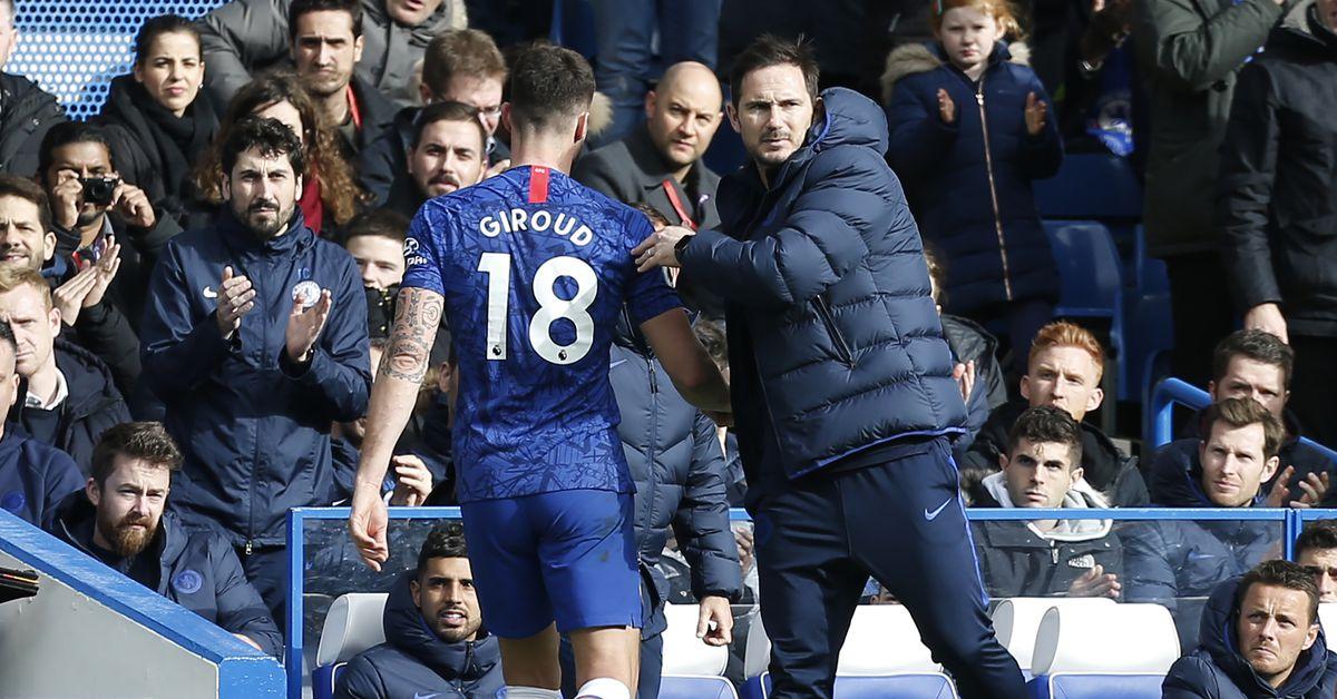 Lampard effusive in praise of 'absolutely fantastic' Olivier Giroud