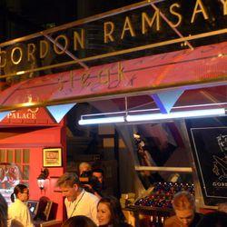 Gordon Ramsay's booth at the Grand Tasting.