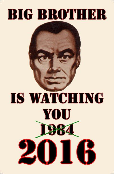 Actually, it turns out, we are watching ourselves.