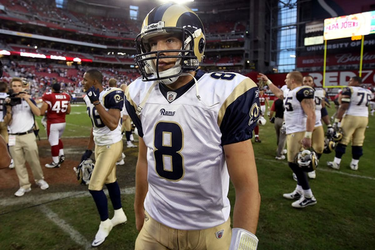 Could Sam Bradford have more weapons next year?