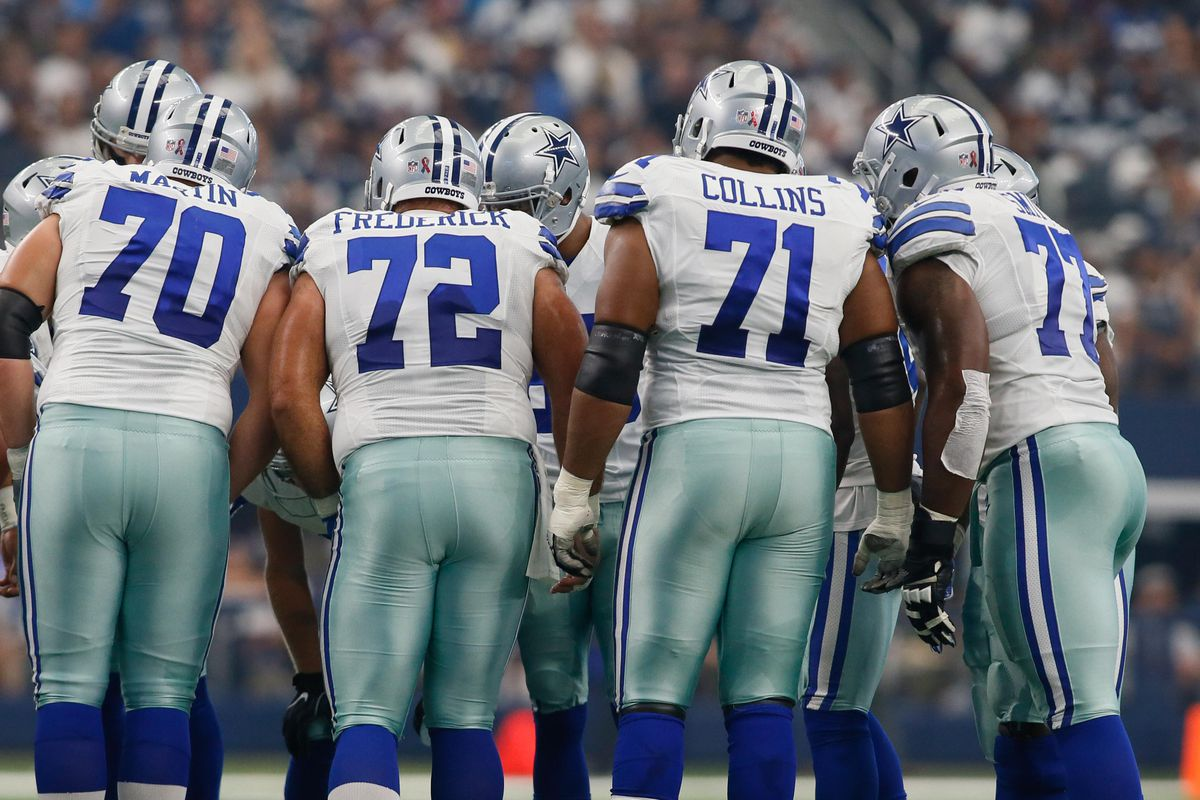 06f6873e7 Just not fair: 2018 Cowboys have youngest O-line in the NFL ...