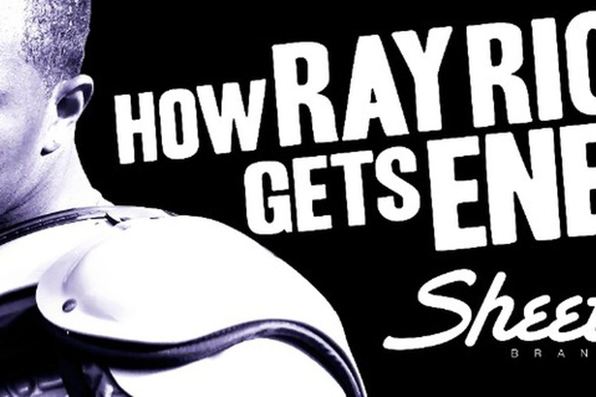 Ray Rice's 'Sheets' Energy Strips