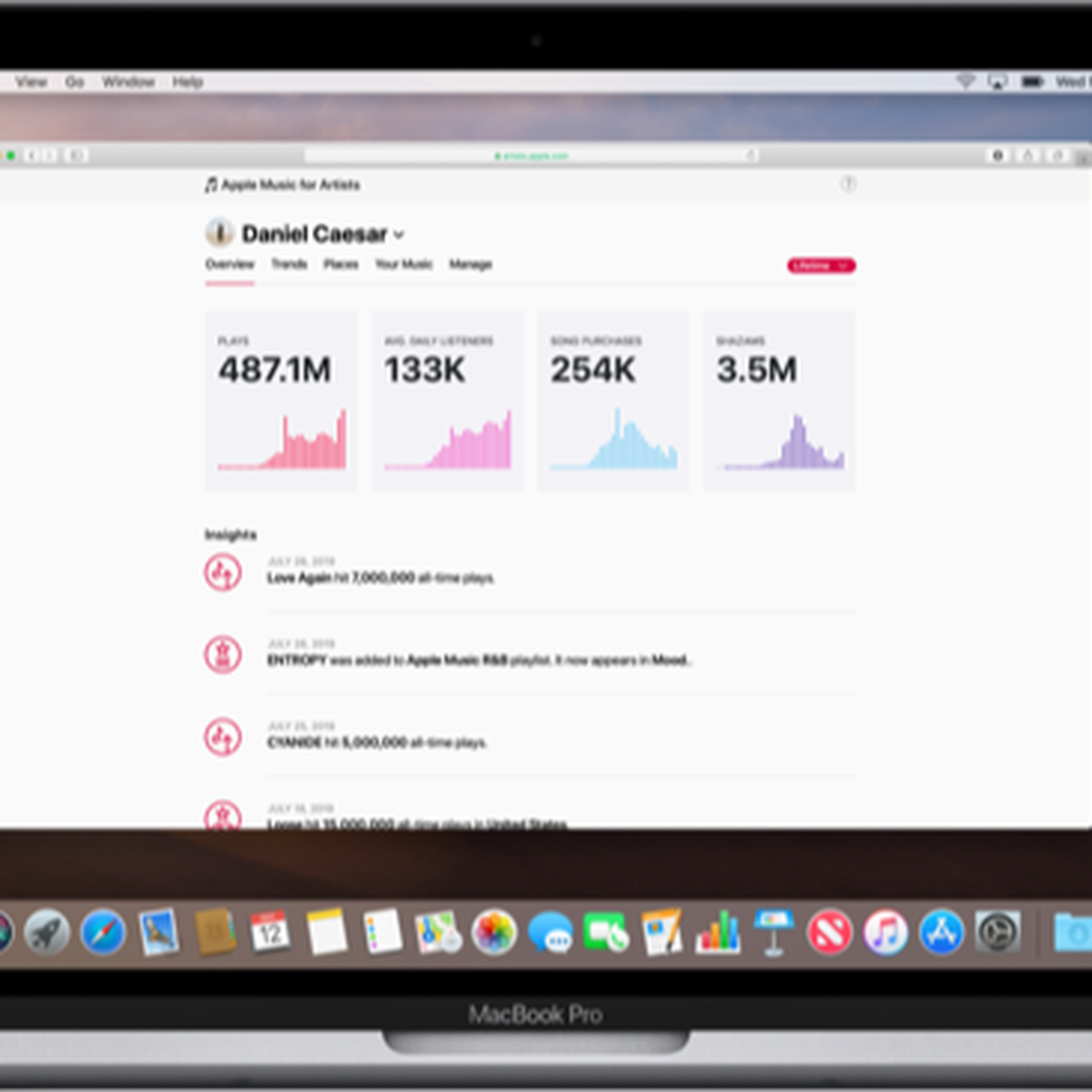 Apple Music's analytics dashboard for artists is now available for