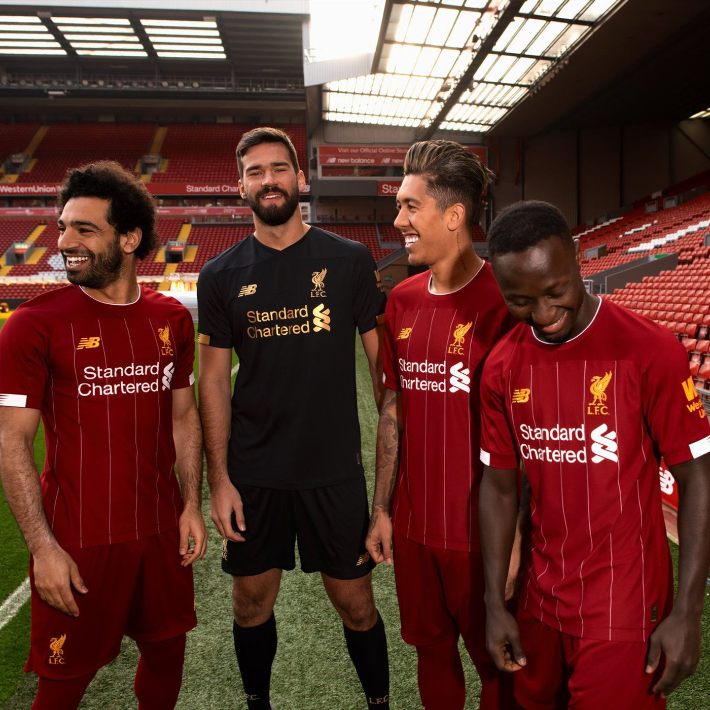 cheap for discount e685b 03248 New Balance Unveil New Liverpool Home Kit For 2019/20 - The ...