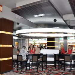The new Bar 46 at the Golden Nugget.