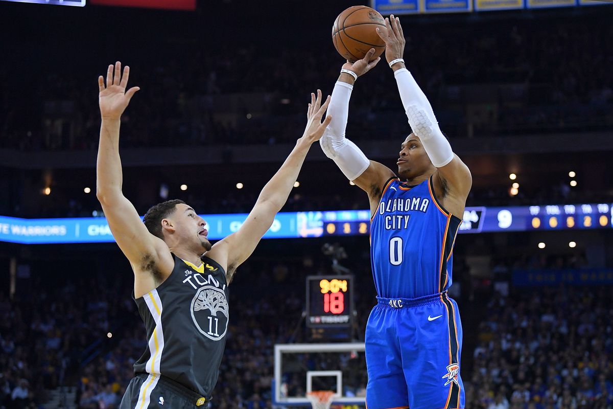 NBA scores  Oklahoma City Thunder beat Golden State Warriors 125-105 ... 4d99d8bb2