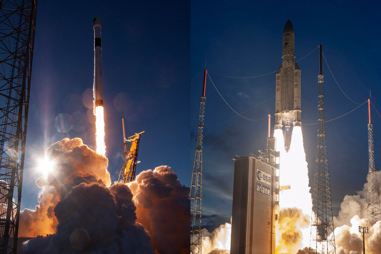 future rocket taking off - HD1310×873