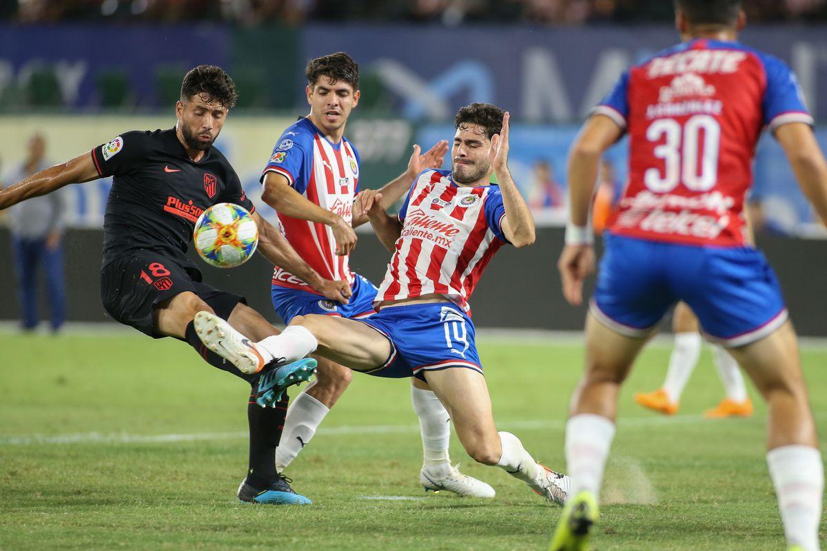 SOCCER: JUL 23 International Champions Cup - Chivas de Guadalajara v Atletico de Madrid