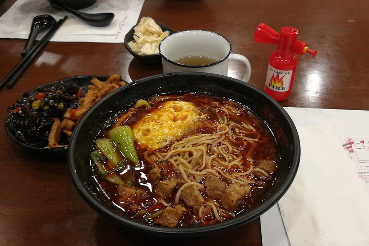 Mian Sichuan Noodles