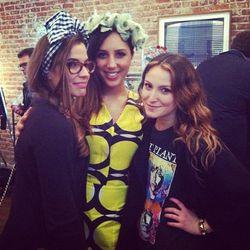 Cult Gaia's Jasmin Larian (center), Closet Rich's Elizabeth Kott (right)