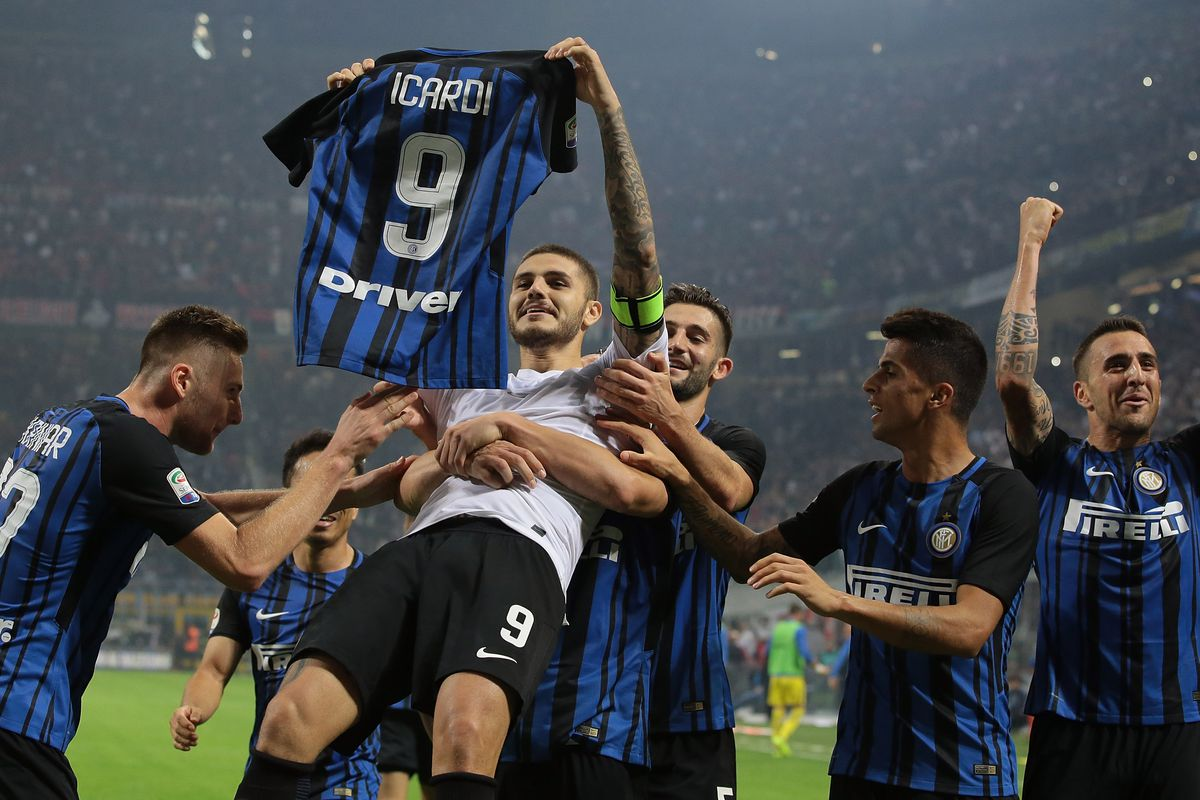 Angels Links Mauro Icardi hat trick wins the Milan derby for