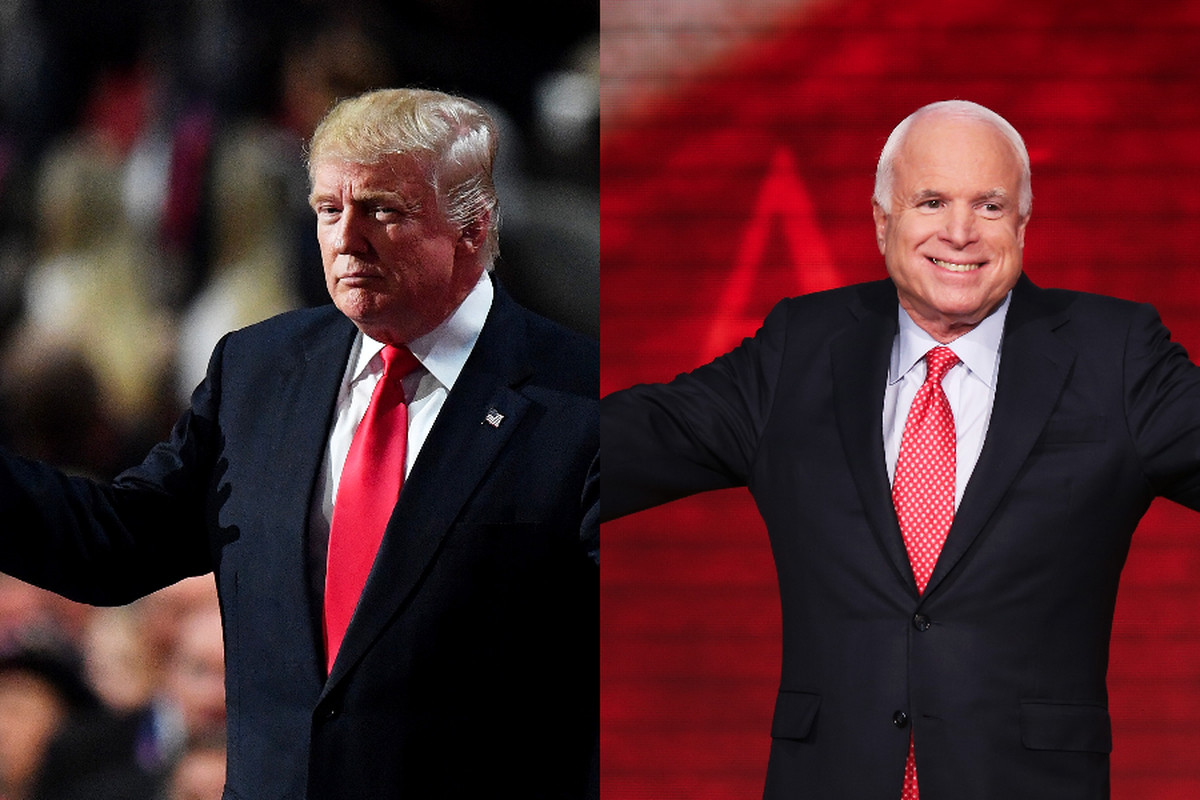 Donald Trump's convention speech didn't attract as many viewers as John McCain's in 2008.