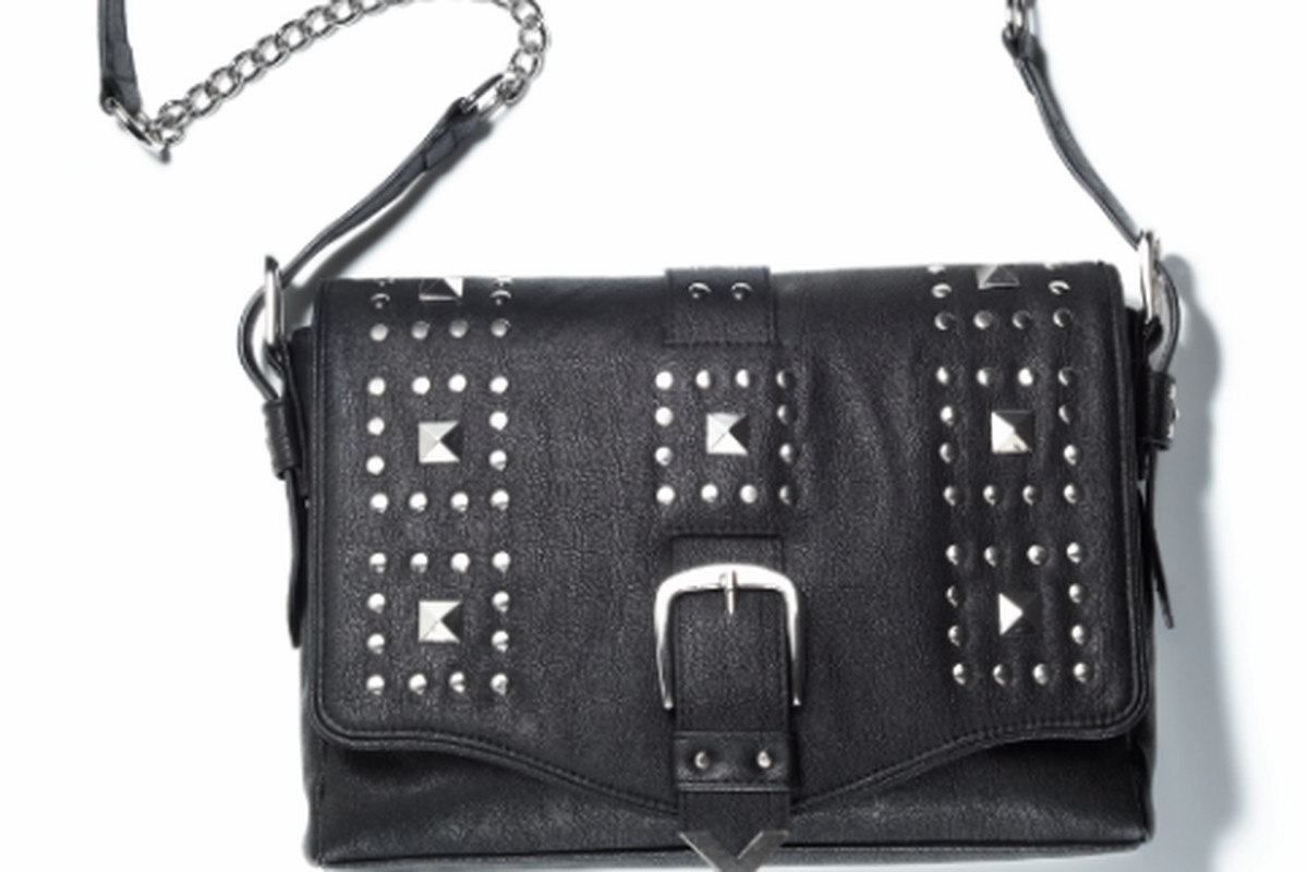"""Rebecca Minkoff's """"Delight"""" bag for mark, available <a href=""""http://shop.meetmark.com/shop/product.aspx?pf_id=43809&amp;setlang=1&amp;cookie_rep=1&amp;rep_acct_nr=9687367&amp;c=SocialMedia&amp;otc=Twittershare_1143672&amp;s=SM_TwitterShare_PDP"""">here"""