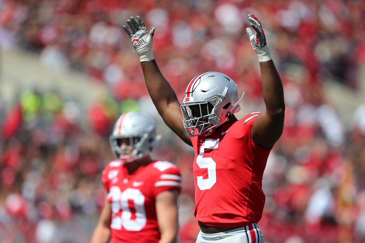 Ohio State's Baron Browning won't play against Northwestern, Thayer Munford game-time decision