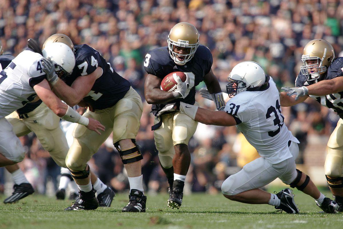 Football - NCAA - Penn State vs. Notre Dame