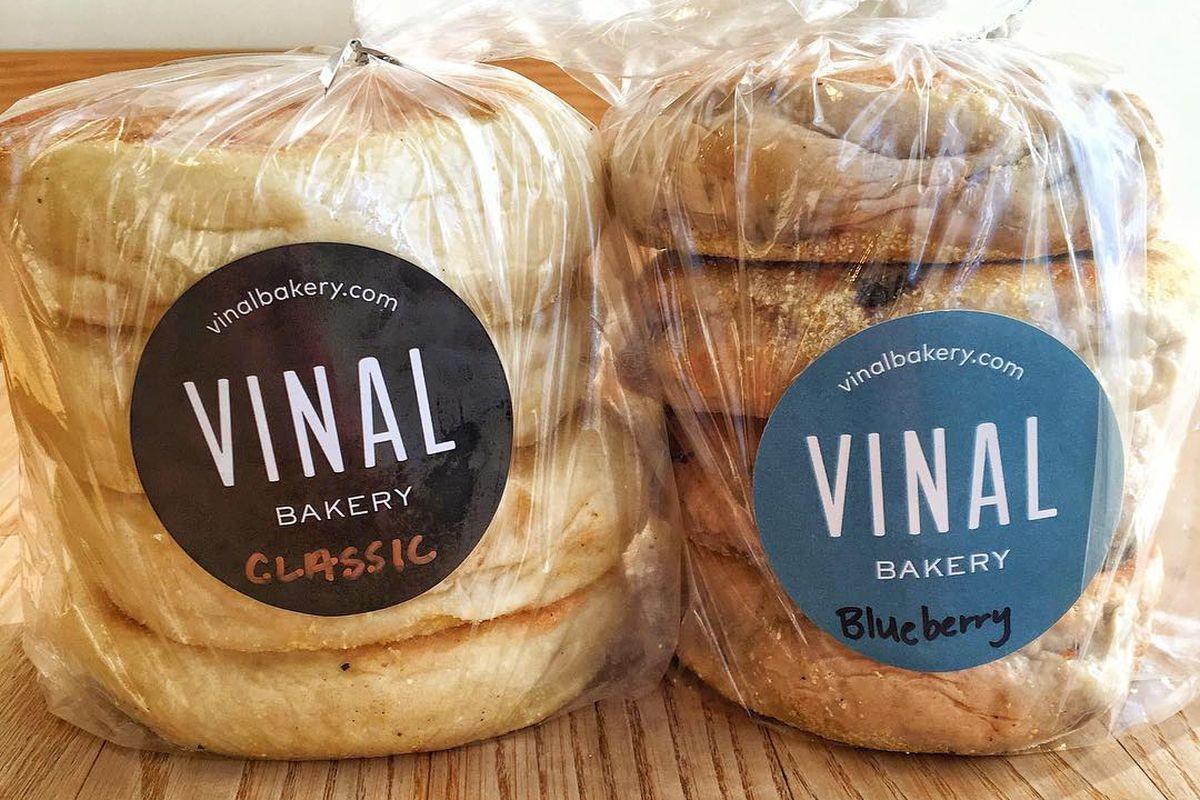 Vinal Bakery English muffins