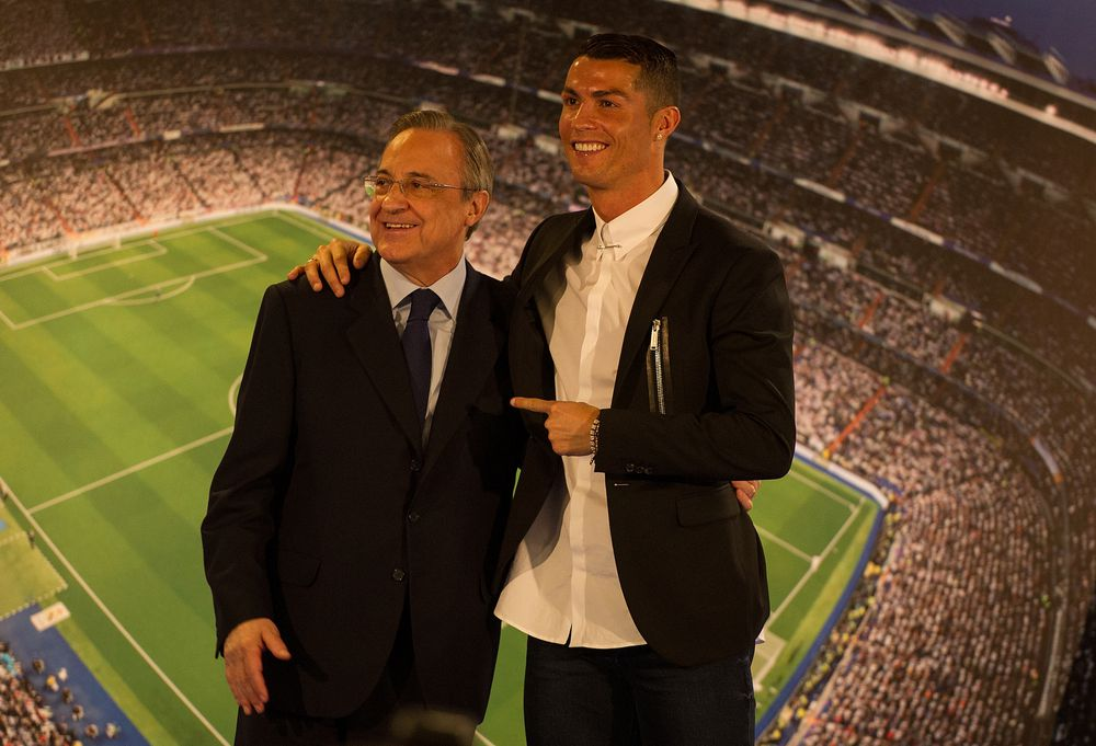 Florentino Perez is re-elected as president until 2021 — Real Madrid