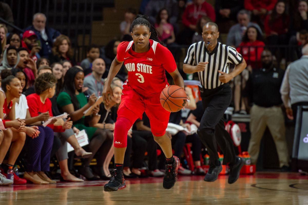 COLLEGE BASKETBALL: FEB 22 Women's Ohio State at Rutgers