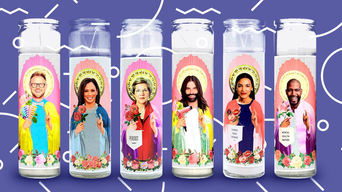 Image result for celebrity shrine candle