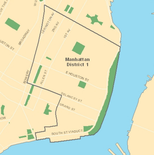 District 1 includes the Lower East Side. (Photo credit: New York City Department of Education)