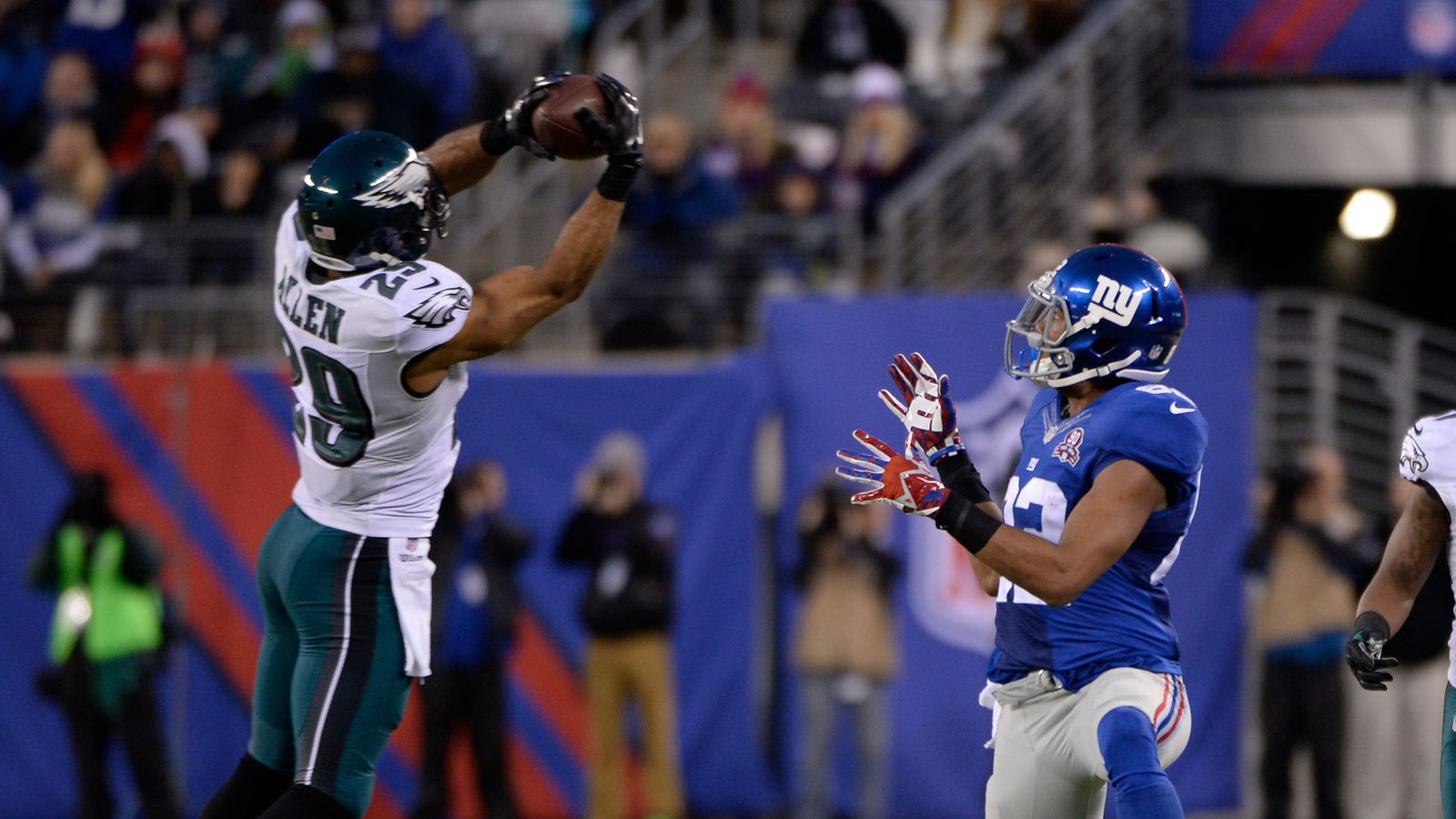 eagles vs giants