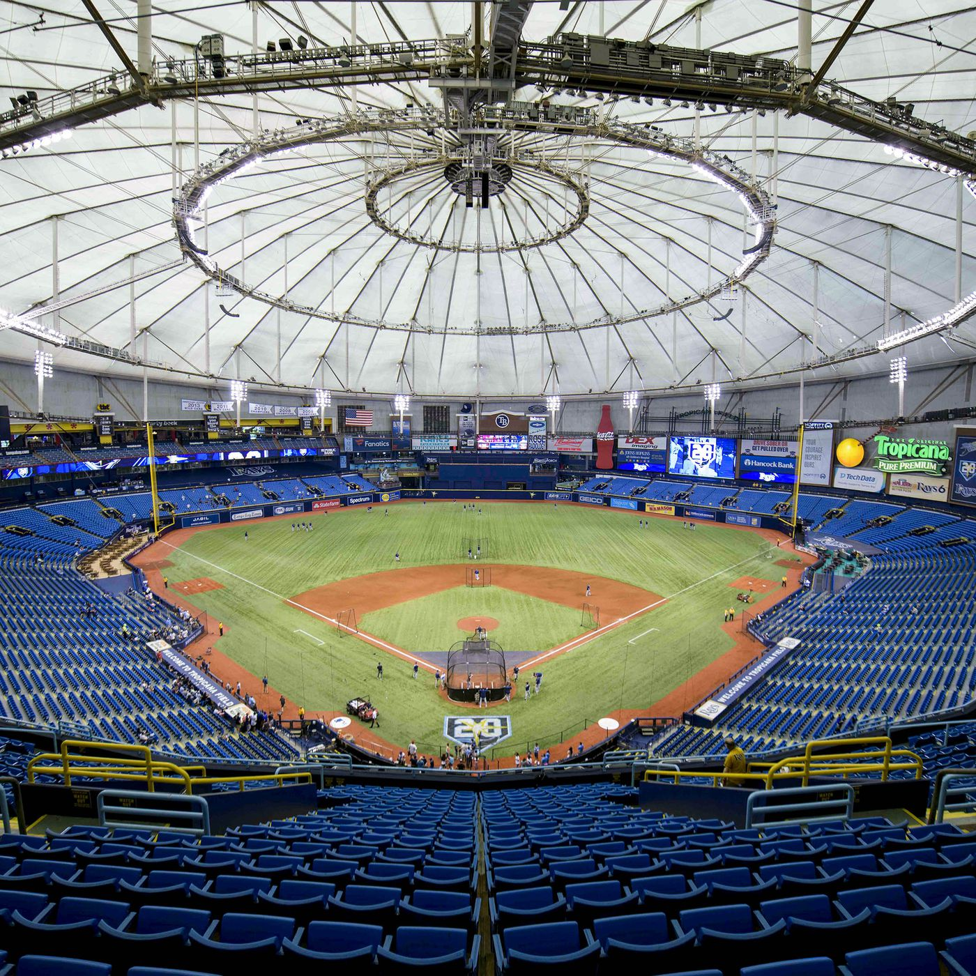 Tropicana Field Seating Chart With Seat Numbers