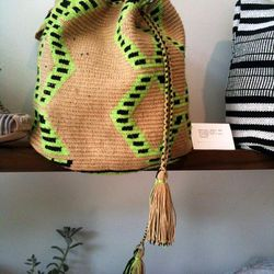 Handmade Mochila bag, $298