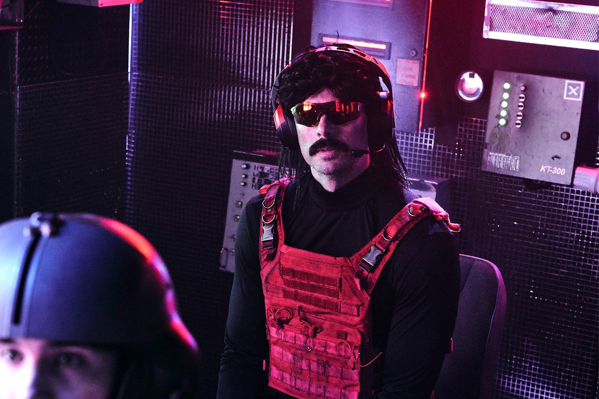 Dr. Disrespect Won't Go Back to Twitch, Doesn't Want Exclusivity Deal