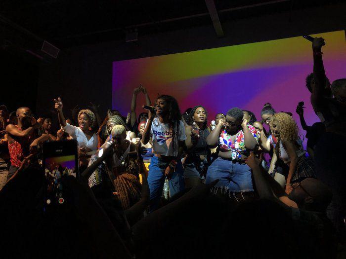 Kari Faux performing at Villain in Brooklyn, NY on July 10 ,2019