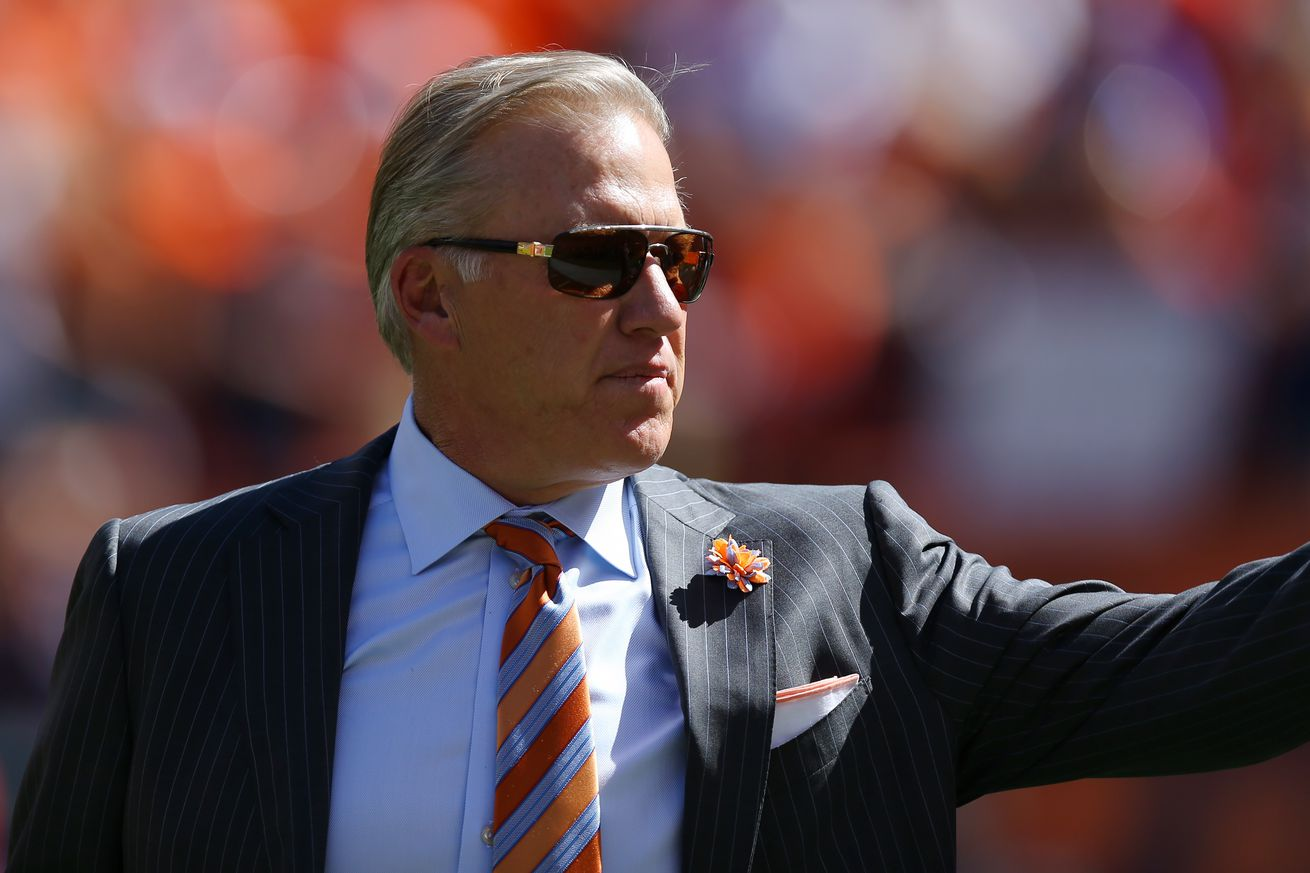 Will John Elway sign a new contract soon?