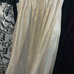 Silver skirt, $199 (was $495)