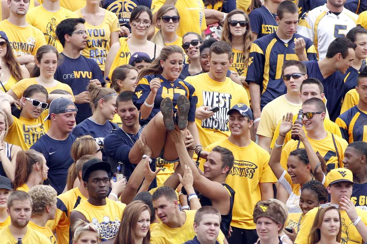 West Virginia Student Section