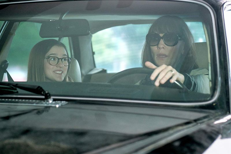 Cate Blanchett and Emma Nelson in Where'd You Go, Bernadette.