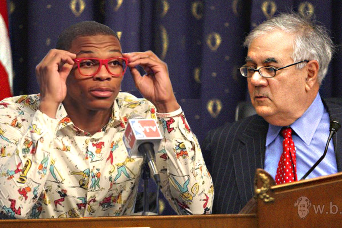 Barney Frank wonders how Westbrook's lens-less glasses bill could have a material impact on the mortgage crisis