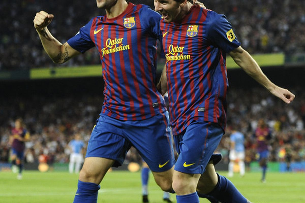 The Messi-Fabregas connection has been amazing for Barcelona.