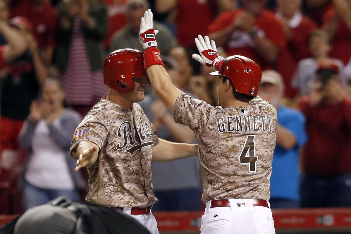 """Hopefully the Reds don't start wearing these jerseys more for the """"luck"""""""