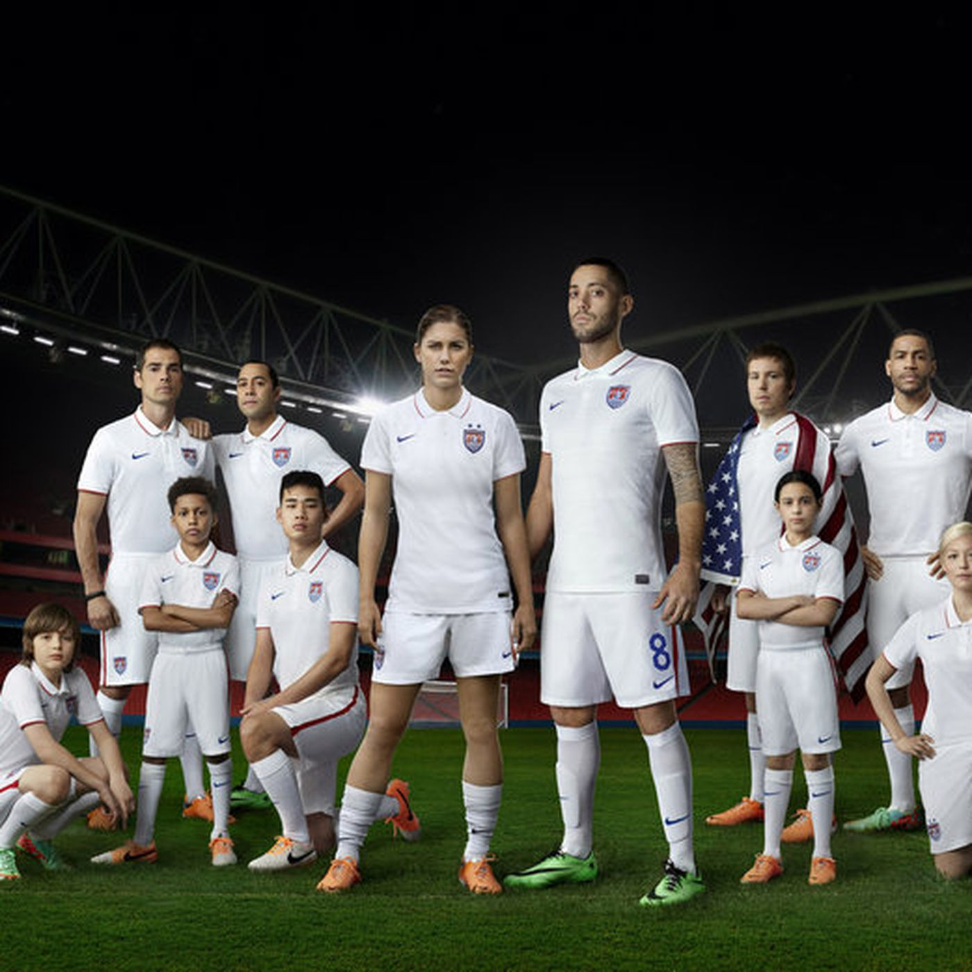 cheap for discount 09be3 4c3e9 The 2014 United States World Cup home jersey is... lacking ...