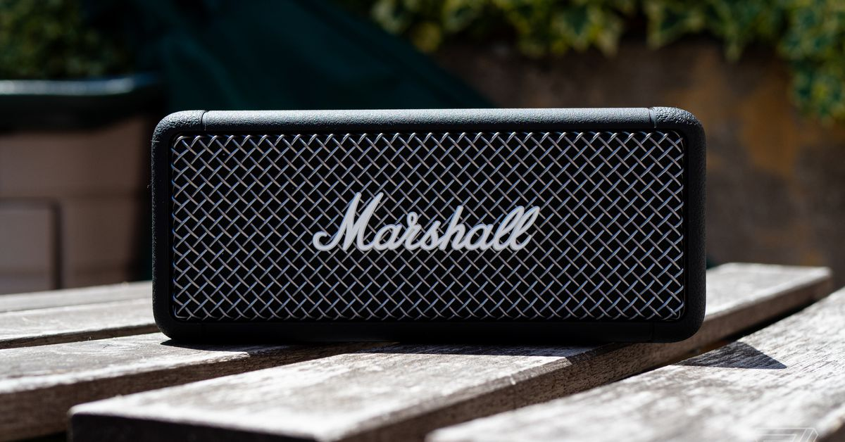 Marshall Emberton overview: a rugged, refined Bluetooth speaker - The Verge thumbnail