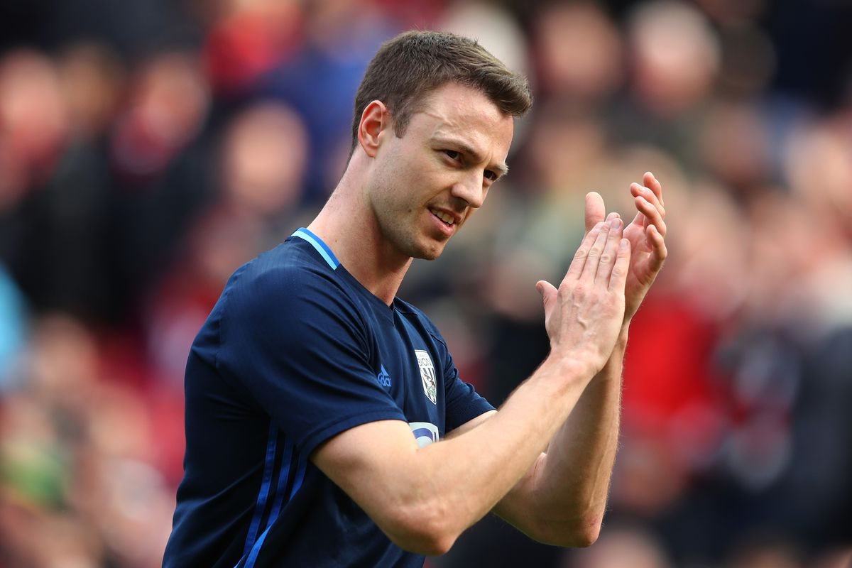 West Brom reject Manchester City bid for Evans