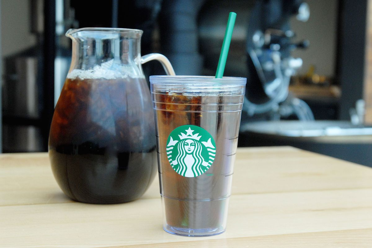 starbucks goes all in, introduces trendy cold-brew coffee - eater