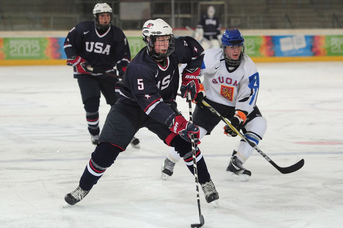 Minnesota recruit Jack Glover will lead the US blue line