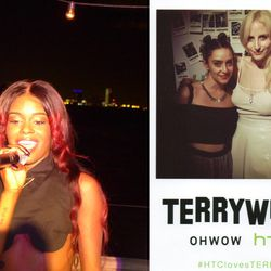 """""""Our next stop was the TERRYWOOD party hosted by OHWOW Gallery in honor of <b>Terry Richardson</b>'s book. It was a true Miami experience and the party wouldn't have been the same without a surprise live performance by <b>Azealia Banks</b>, who took the s"""